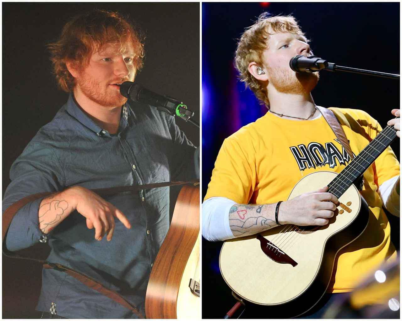 画像: 2016年(左)と2019年(右)に撮影されたエド。