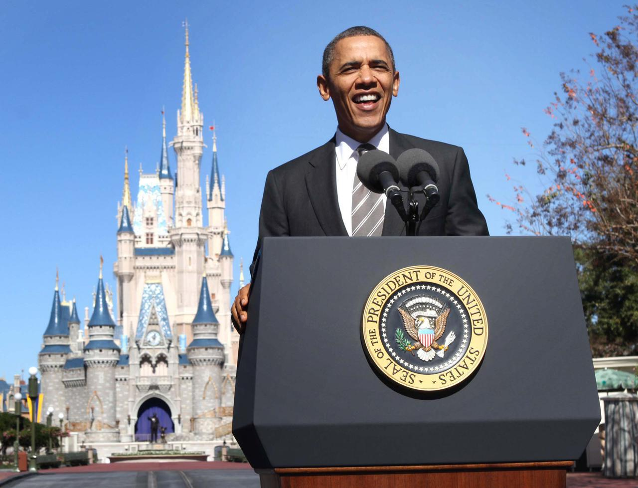 画像: バラク・オバマ元米大統領