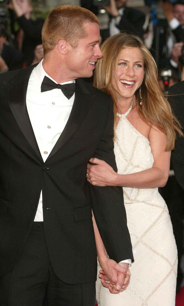 画像2: 2004年のブラッドとジェニファー。