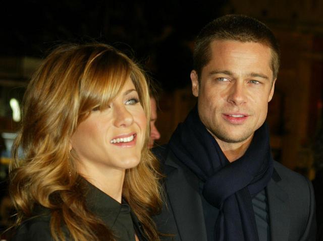 画像1: 2004年のブラッドとジェニファー。