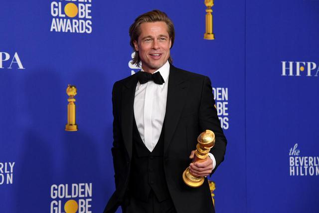 画像: ブラッド・ピットが助演男優賞に輝く