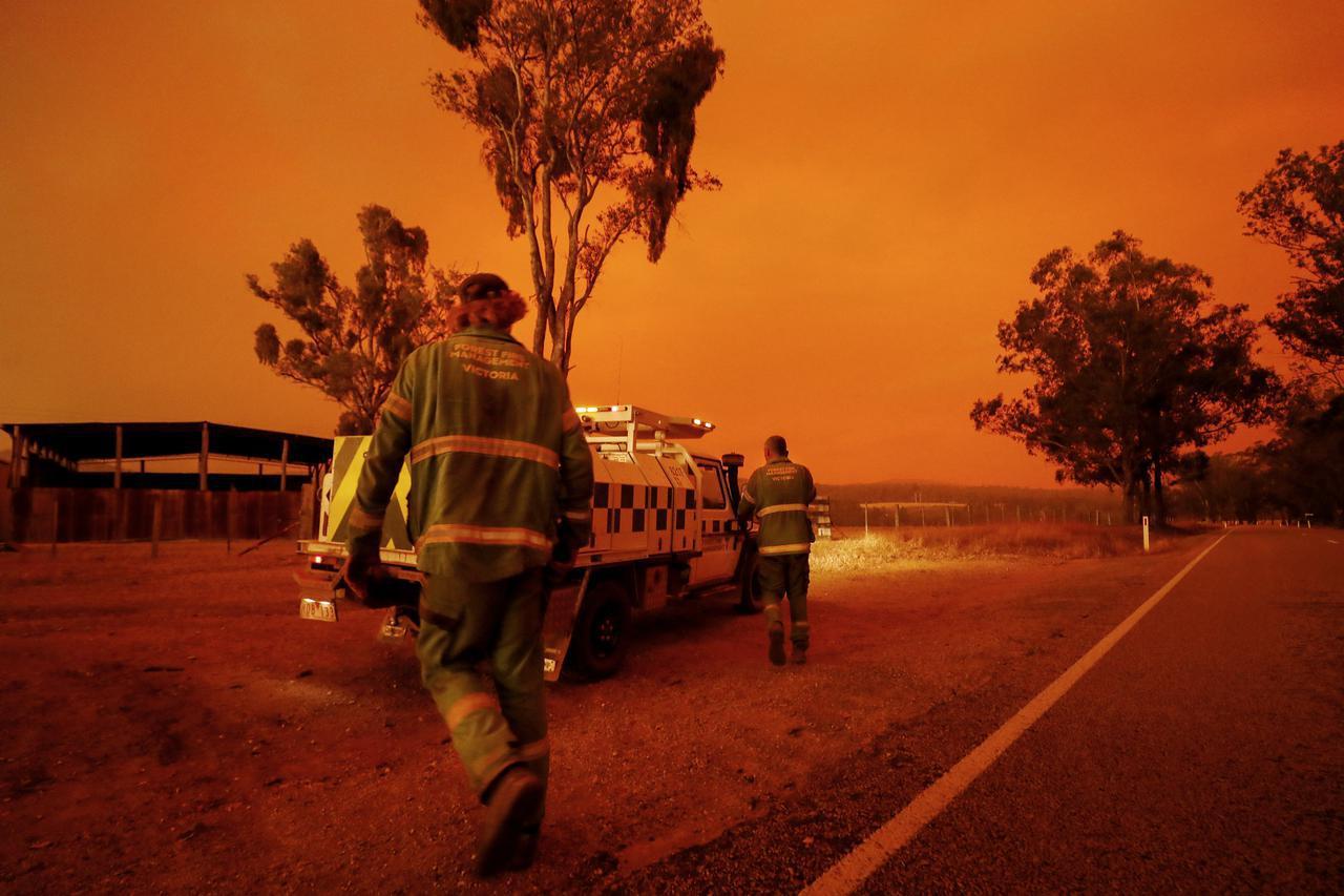 画像: 被害広がる豪森林火災