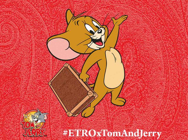 画像3: エトロと「トムとジェリー」がコラボ! 銀座で期間限定ポップアップ開催