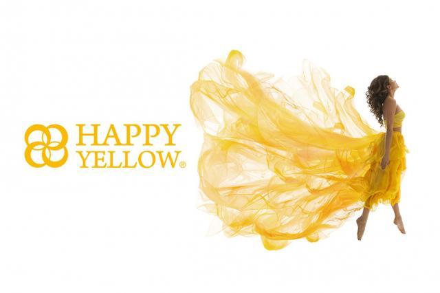 画像: HAPPY YELLOW®︎(光・太陽:輝きをイメージする黄色)