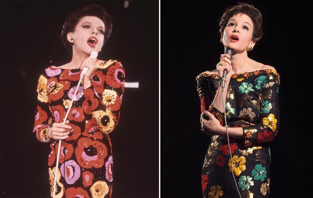 画像: 『ジュディ 虹の彼方へ』では「ジュディ・ガーランド(左)が憑依したかのよう」と称賛されたレネー・ゼルウィガー(右)の演技。本作でアカデミー賞主演女優賞を獲得した。