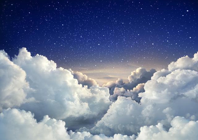 画像: シンプルで超絶可愛い「雲ネイル」
