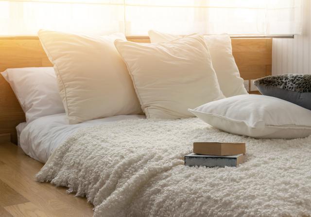 画像: 毎朝ベッドをきれいに整える