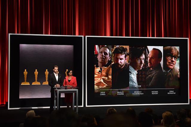 画像: 写真は2015年第87回アカデミー賞主演男優賞発表の様子。