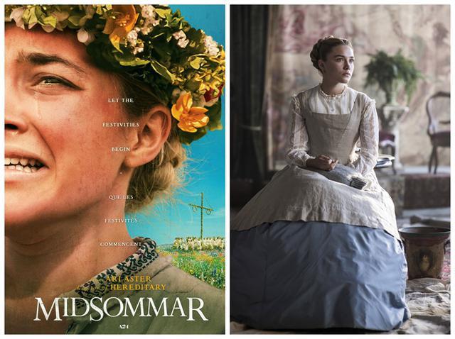 画像: 映画『ミッドサマー』より(左)、映画『ストーリー・オブ・マイライフ/わたしの若草物語』より(右) ©B-REEL FILMS / Album/Newscom、©COLUMBIA PICTURES / Album/Newscom