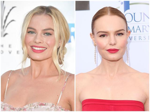 画像: 左:女優のマーゴット・ロビー、右:ケイト・ボズワース