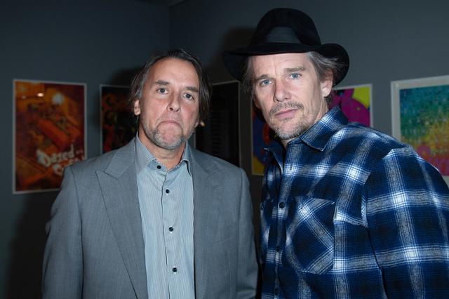 画像: リチャード・リンクレイター(左)、イーサン・ホーク(右)