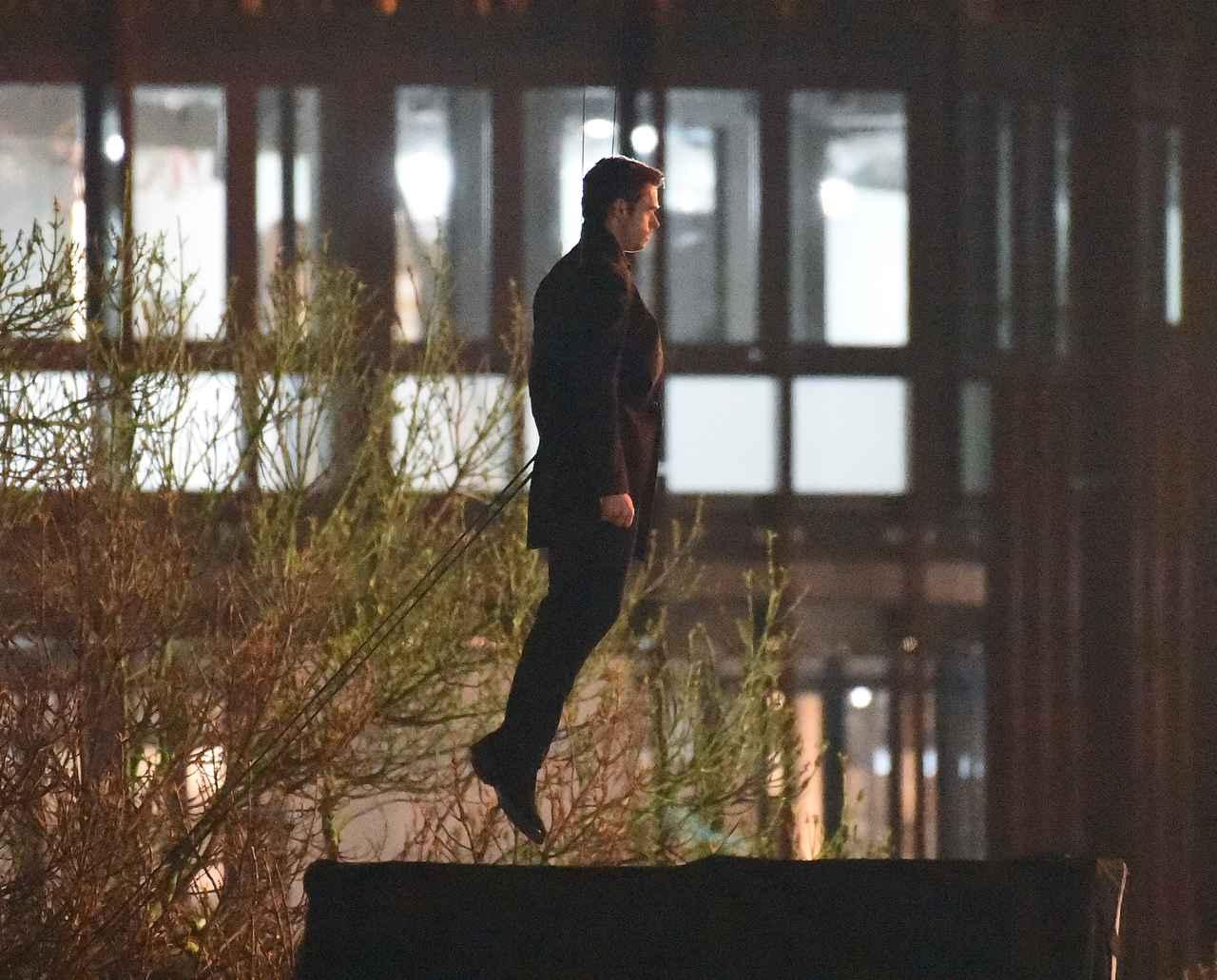 Images : 11番目の画像 - リチャード・マッデンが宙を舞う!MCU新作映画『エターナルズ』の撮影現場が激写 - フロントロウ -海外セレブ情報を発信