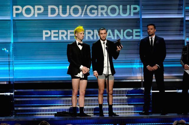 画像: グラミー賞を受賞できたら「下着姿になる」