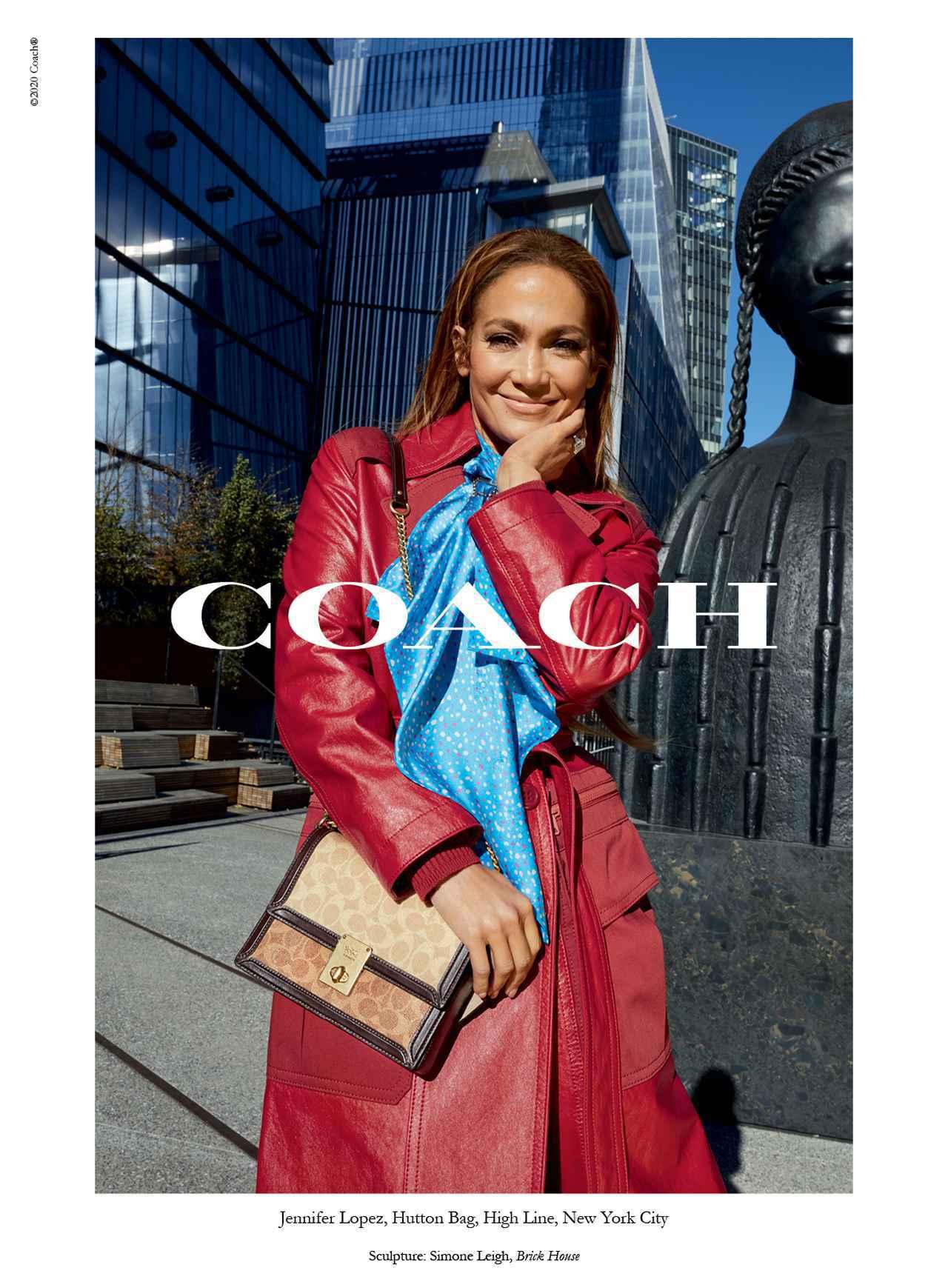 画像1: コーチの顔にジェニファー・ロペス!最新コレクションを発表
