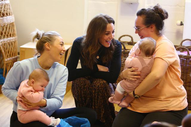 画像: 同じ日に子供たちへの愛を示したキャサリン妃