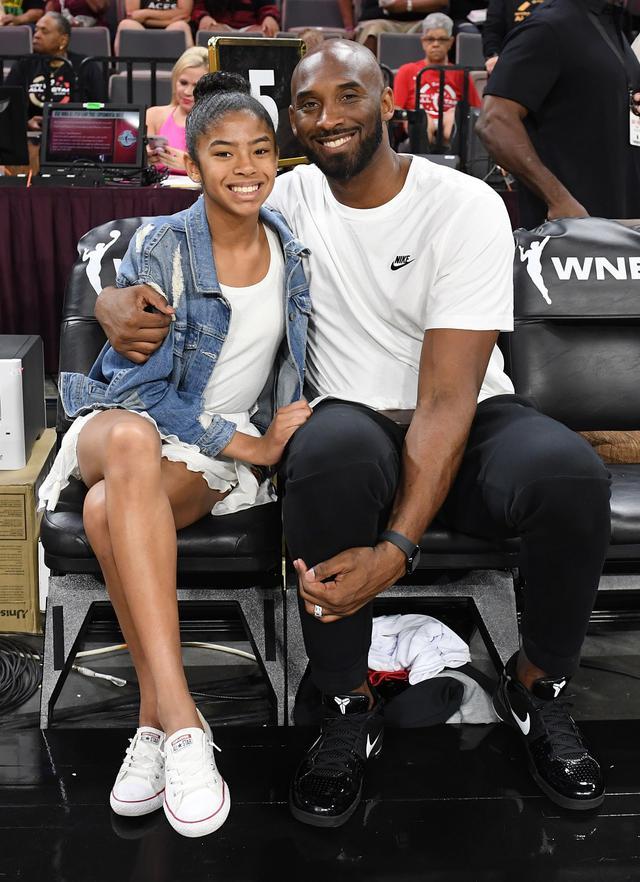 画像: 亡くなったコービーとジアナ。コービーはバスケ選手としての将来が有望視されていたジアナちゃんに「自身のレガシーを受け継いで欲しい」と語っていた。