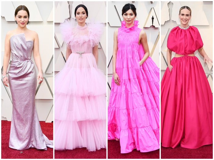 画像: 2019年のアカデミー賞にピンクのドレスを纏ったセレブたち