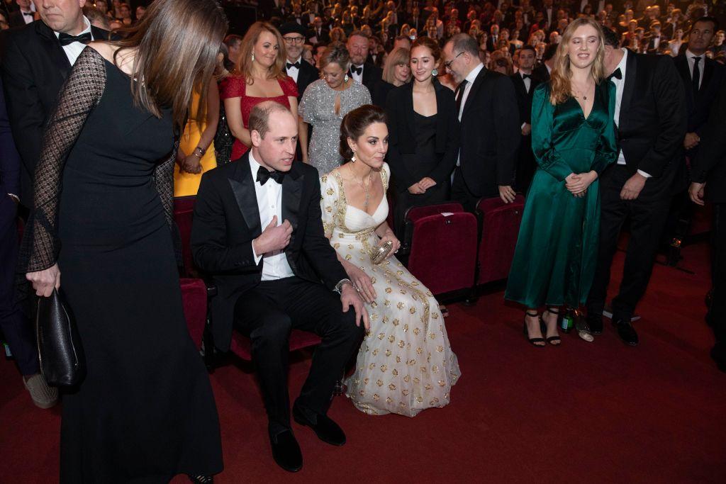 画像: 会場に到着したウィリアム王子とキャサリン妃。
