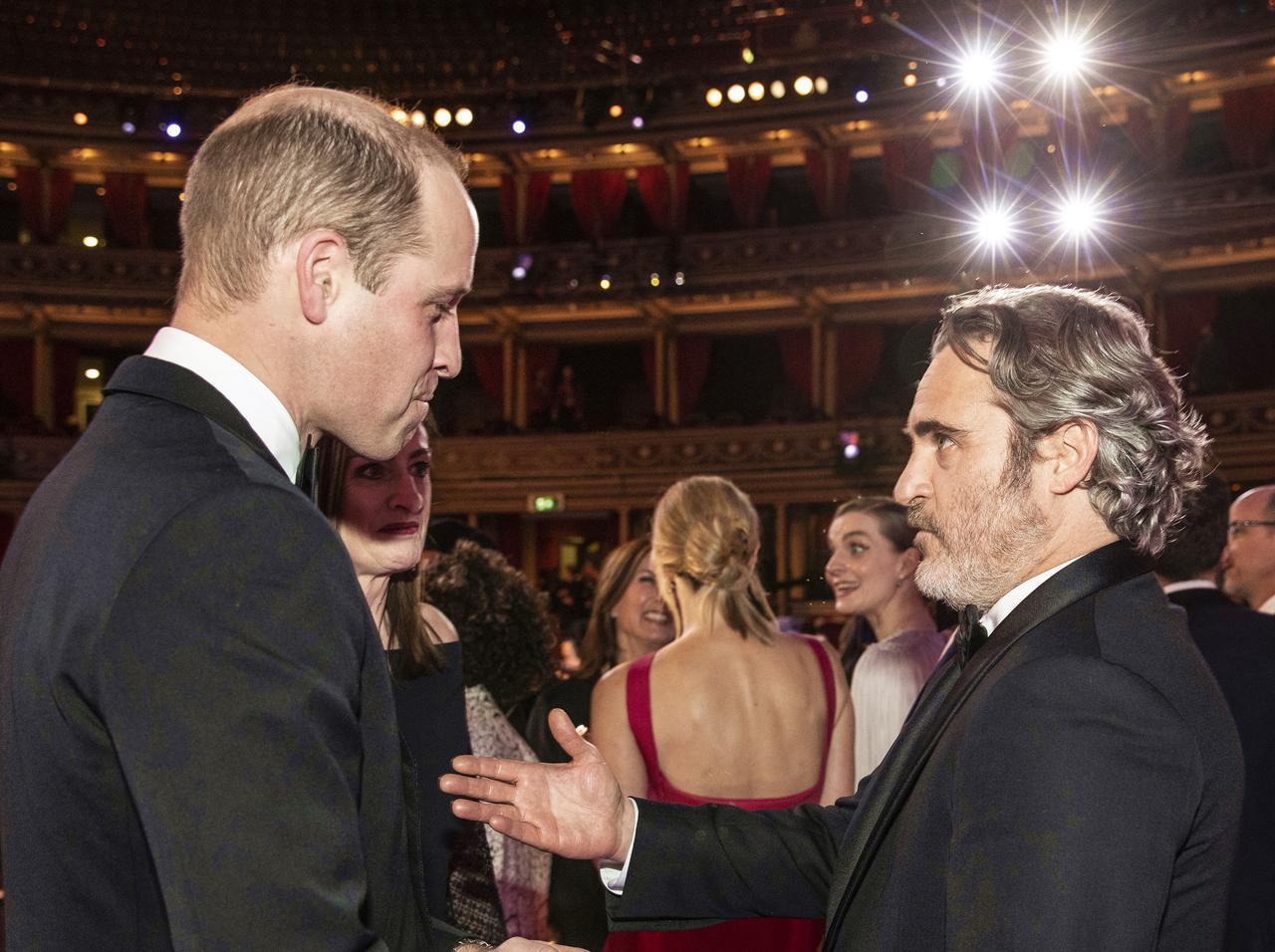 画像: ウィリアム王子はジョーカーファン