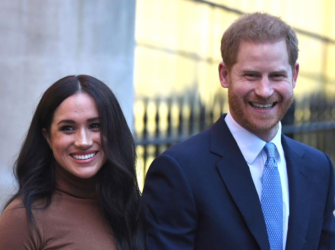 画像: 現在はカナダにいるヘンリー王子とメーガン妃