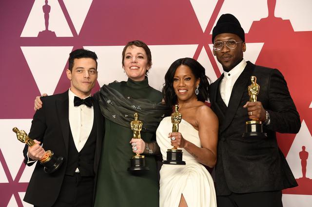 画像: 2019年アカデミー賞の主演・助演賞の受賞者たち。