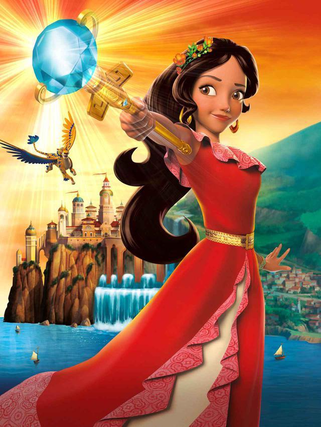 画像2: ディズニーのラテン系プリセス、エレナ