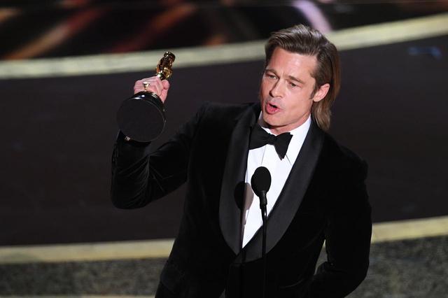 画像: ブラピが俳優として初のオスカー受賞