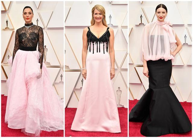 画像: 左から、ガル・ガドット、ローラ・ダーン、カトリーナ・バルフ