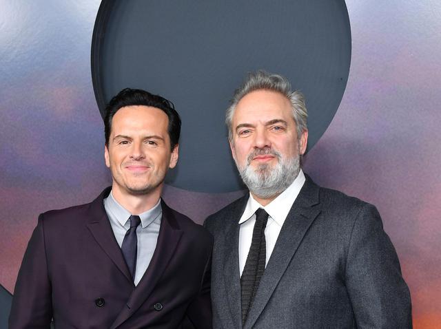 画像: アンドリュー・スコット(左)とサム・メンデス監督(右)