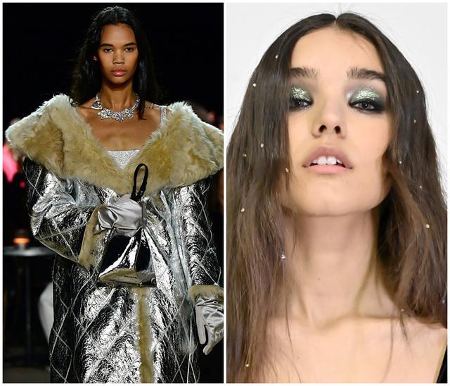 画像: (Marc Jacobs Fall 2020 NYFW/TRESemme x Alice + Olivia Fall 2020 NYFWより)