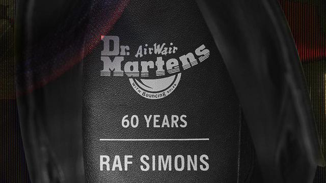 画像3: ドクターマーチン、コラボプロジェクト第2弾はラフシモンズ