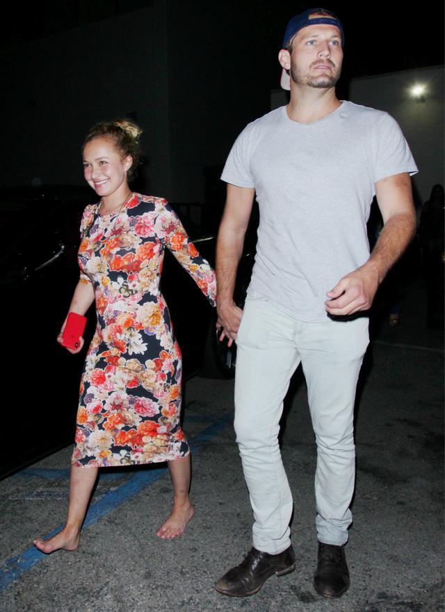 画像: 交際が発覚した2018年夏にロサンゼルスで撮影されたヘイデンとブライアンのツーショット。