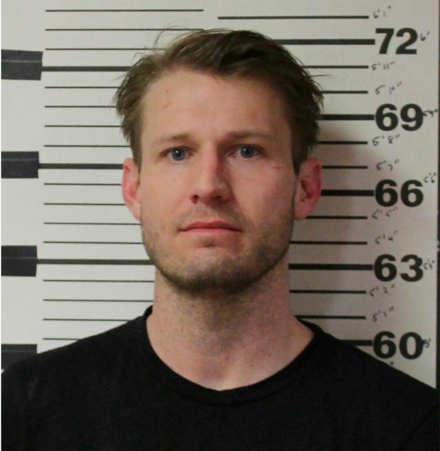 画像: 警察が公開したブライアンの逮捕写真。