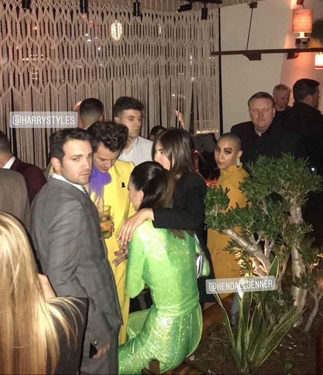 画像1: ハリーとケンダルがパーティーで再会