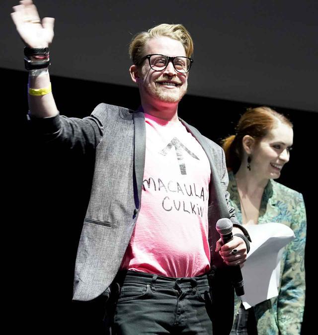 画像: マコーレーが『アメホラ』に出演