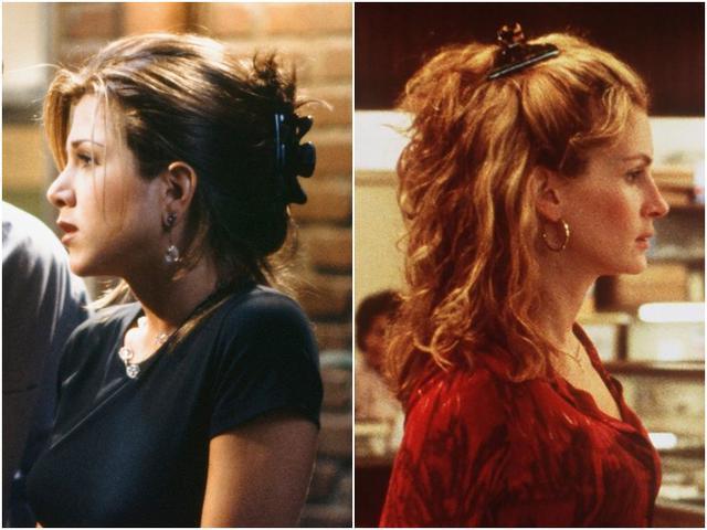 画像: 左:ジェニファー・アニストン、右:ジュリア・ロバーツ