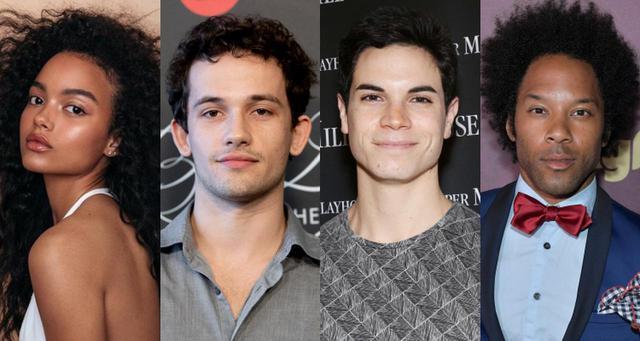 画像: 左から:ホイットニー・ピーク、イーライ・ブラウン、ジェイソン・ゴテイ、ジョナサン・フェルナンデス。エミリー演じるオードリー以外のキャラクターや詳細は現時点では未発表。