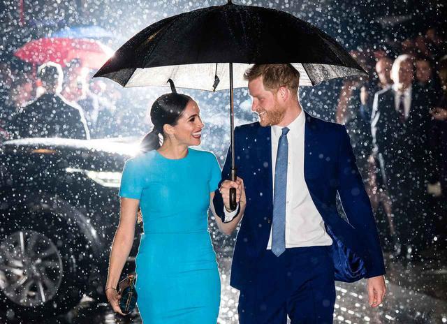 画像: ヘンリー王子とメーガン妃が久々の登場
