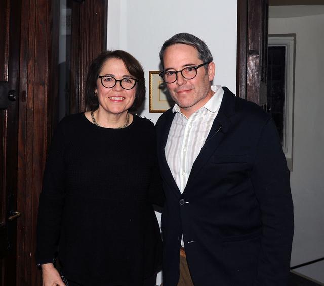 画像: ジャネットとマシュー。