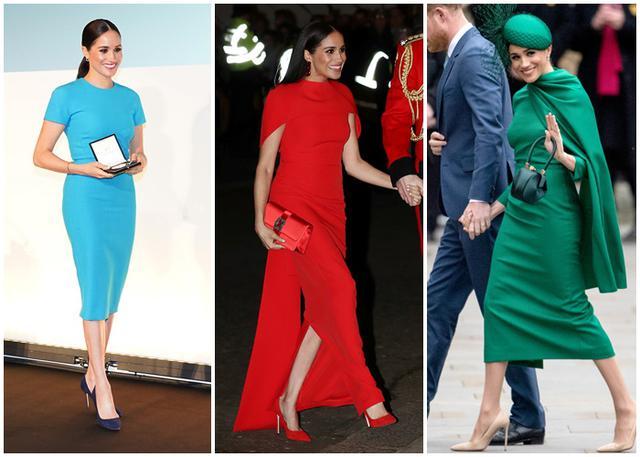 画像: イギリスでのメーガン妃のファッションが話題