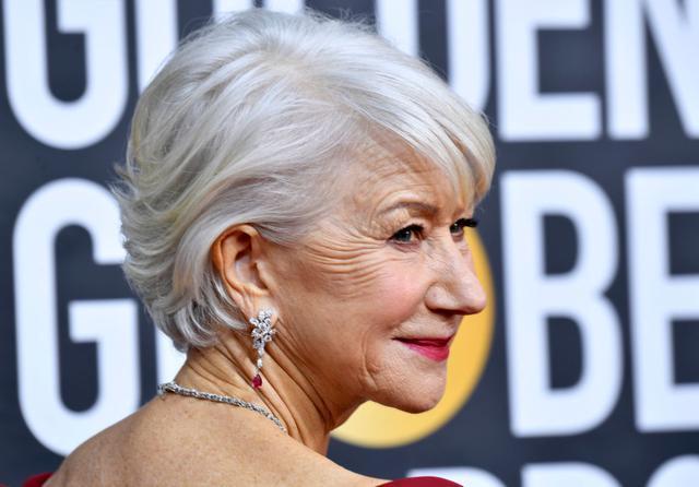 画像: 74歳ヘレン・ミレン、髪を染めない理由
