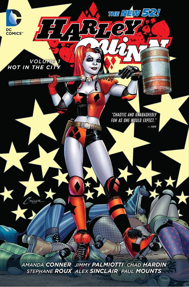 画像: 『Harley Quinn Vol. 1: Hot in the City (The New 52)』より ©︎DCcomics
