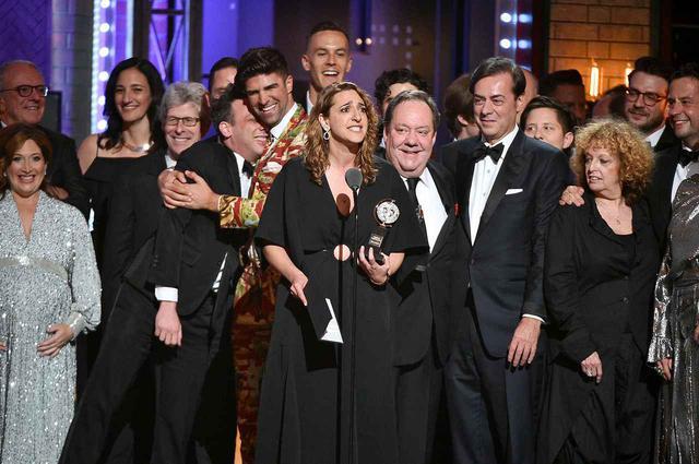 画像: 2019年のトニー賞授賞式の様子。