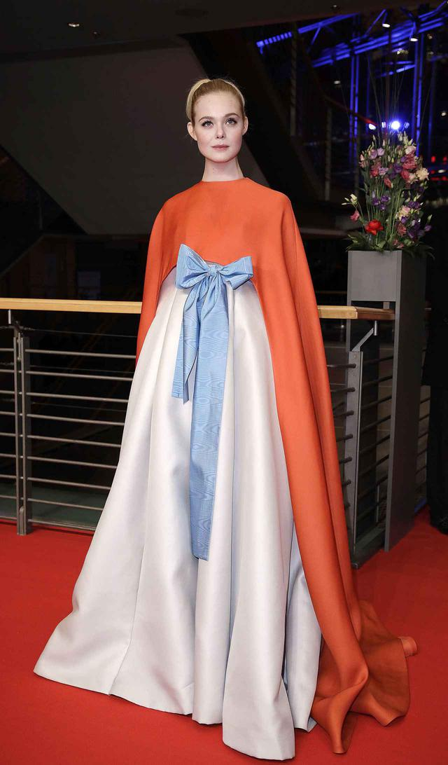 画像: 第68回ベルリン国際映画祭でのエル・ファニング。