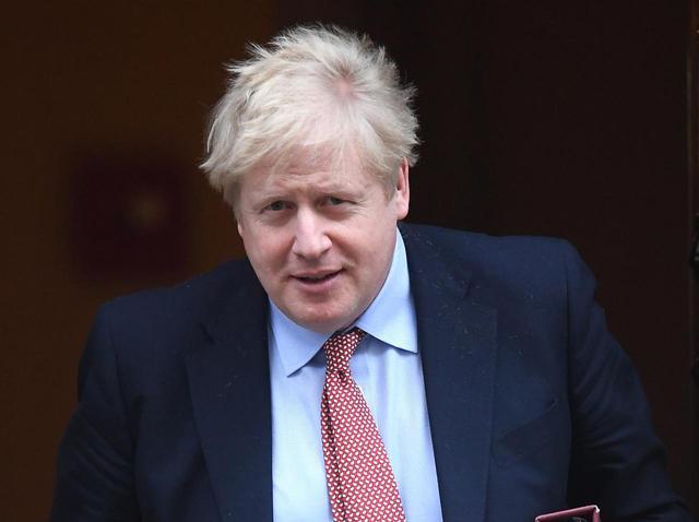 画像: イギリスのボリス・ジョンソン首相