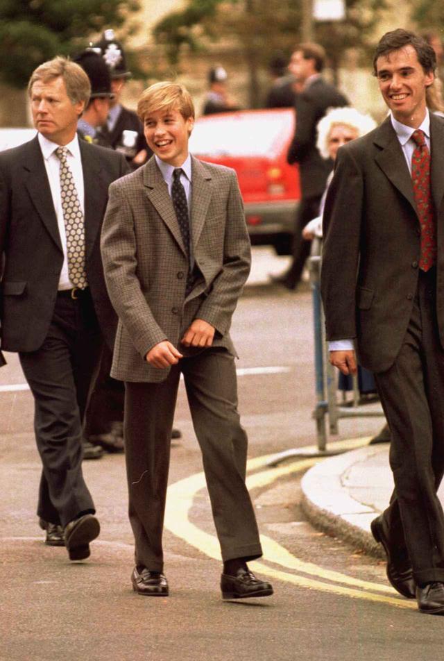 画像: 1995年に撮影されたウィリアム王子。