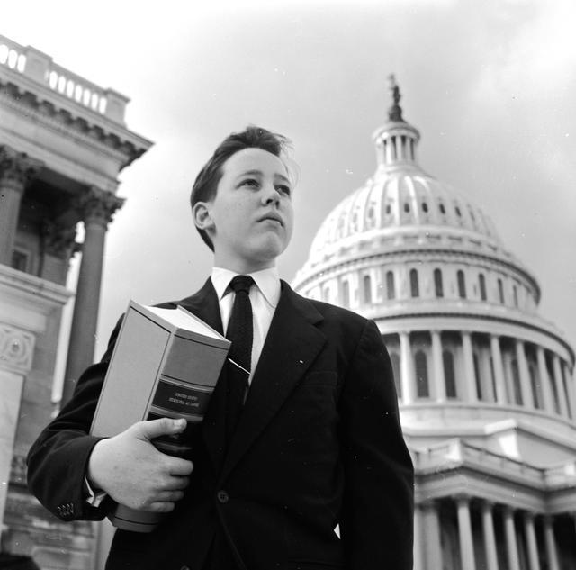 画像: 1950年代のアメリカ議会図書館