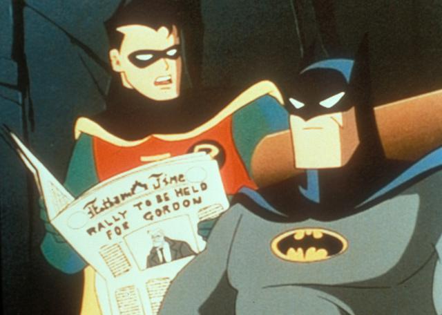 画像: アニメ『バットマン』より ©︎United Archives/Newscom
