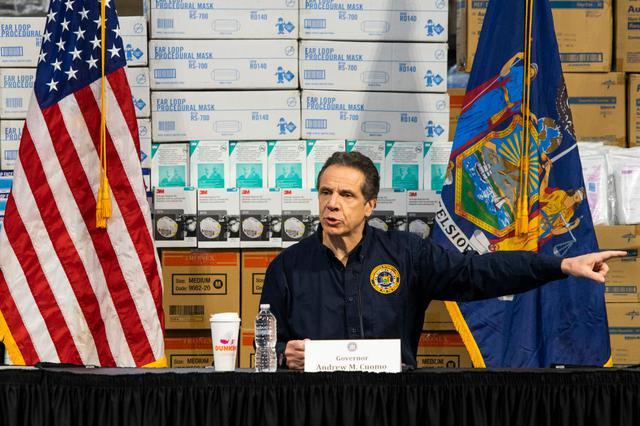 画像: アンドリュー・クオモNY州知事。
