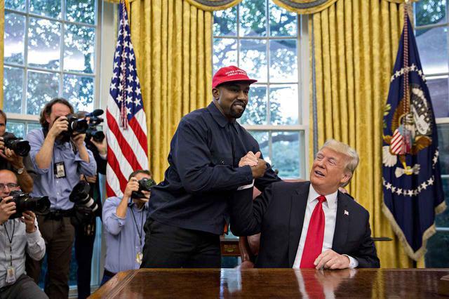 画像: カニエ・ウェストがトランプ大統領への支持を表明